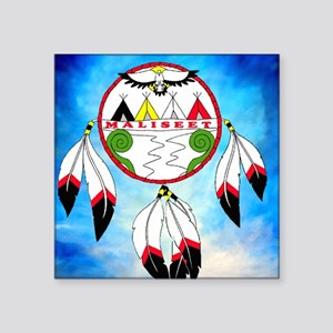 "Maliseet Square Sticker 3"" x 3"""
